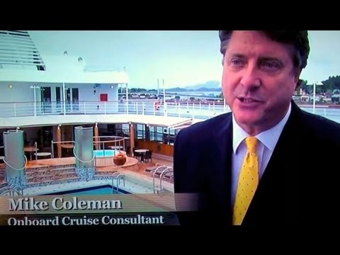 Travel Channel's VIP Alaska featuring Cruise News Weekly Editor Michael Coleman
