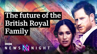 How does Harry and Meghan's decision affect the monarchy? - BBC Newsnight