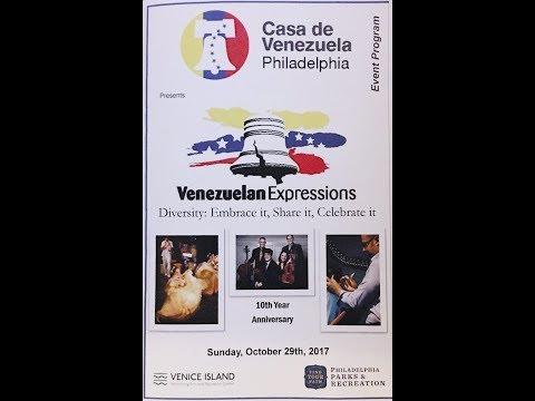 Casa de Venezuela Philadelphia Venezuelan Expressions 2017