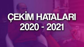 TeknoSeyir Çekim Hataları 2020-2021