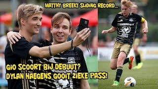 GIO SCOORT BIJ DEBUUT? DYLAN HAEGENS GOOIT ZIEKE PASS!! MATTHY BREEKT SLIDING RECORD...