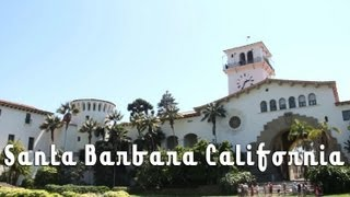 Santa Barbara County Courthouse and Sunken Gardens