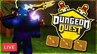 🔴 LEGENDARY SOULSTEALER GREATSWORD   HIGH LEVEL GRINDING & GIVEAWAYS! Roblox: Dungeon Quest