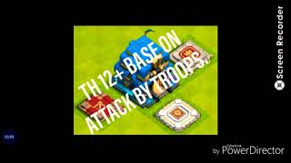 ATTACK ON TOWN HALL 12||MOST POWERFUL ATTACK ON COC||HIGH LVL BASE ATTACK||COC ATTACK||THANKS|||