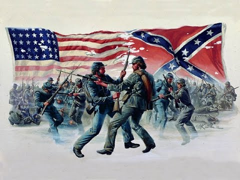 an illustration of the events surrounding the end of the american civil war