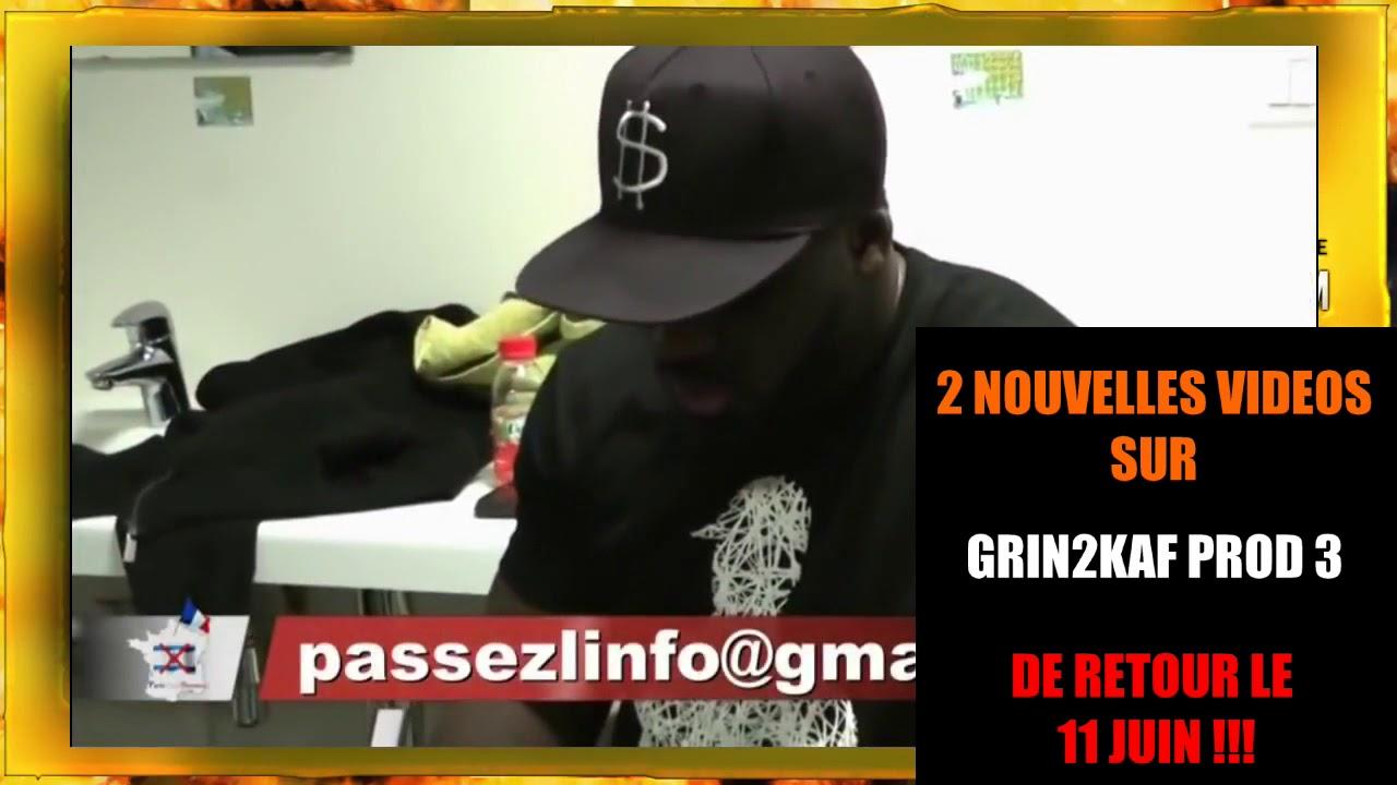 2 NOUVELLES VIDEOS KRONIKS SUR LA CHAINE GRIN2KAF PROD 3 !!!