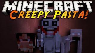 Minecraft Mod Showcase : CREEPY PASTA!