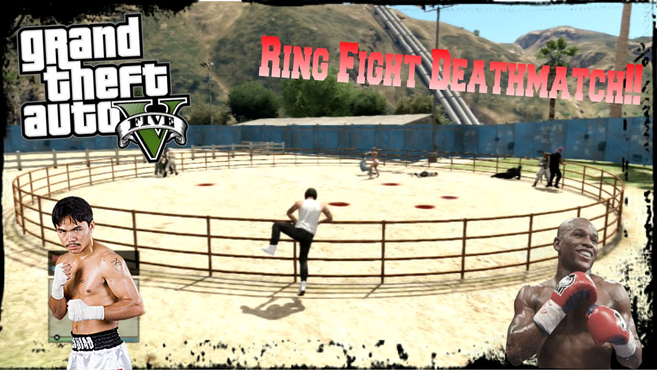 How To Find A Ring Fight Gta