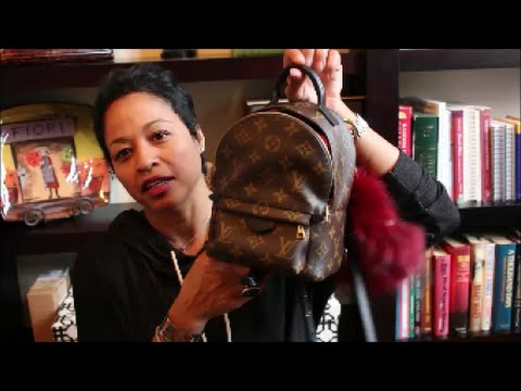 What's in My Louis Vuiton Palm Springs Backpack???!!!