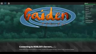 Roblox GAIDEN OA Episode 1-IDK WHAT TO DO