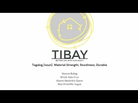 TIBAY | CE group | Thermal Walls | Video Presentation: ENG13 - A4