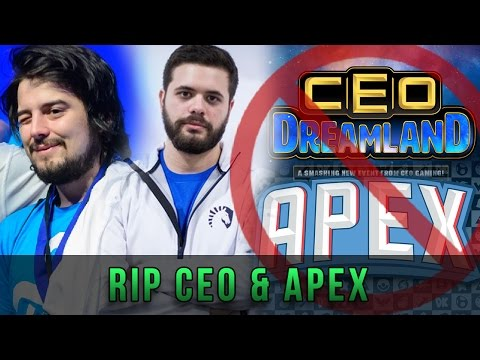 Apex 2017 & CEO Dreamland Canceled! Mang0 and Hbox Tournaments Announced!