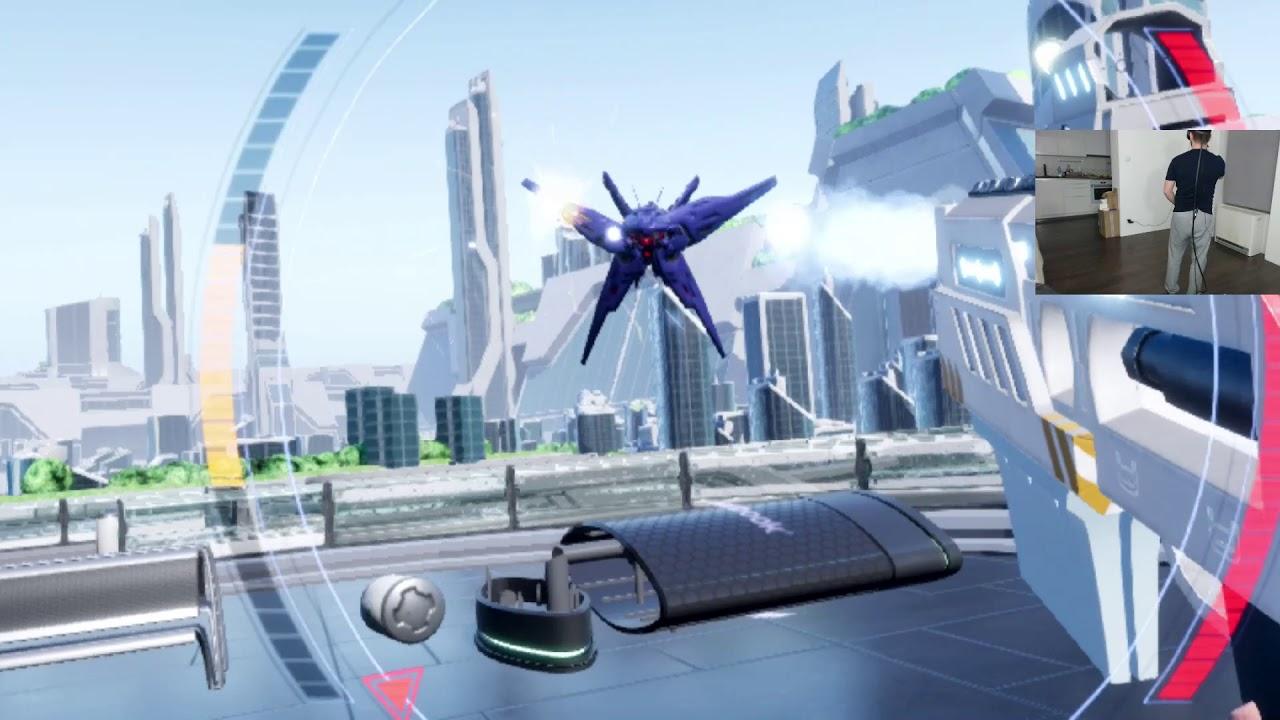 Regenesis Arcade – Pierwsze wrażenia HTC VIVE VR