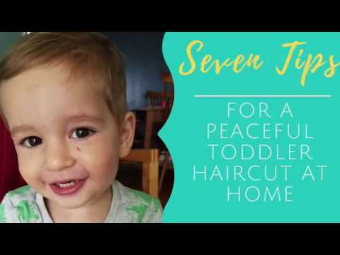 Seven Tips For A Peaceful Toddler Haircut With Clippers At Home