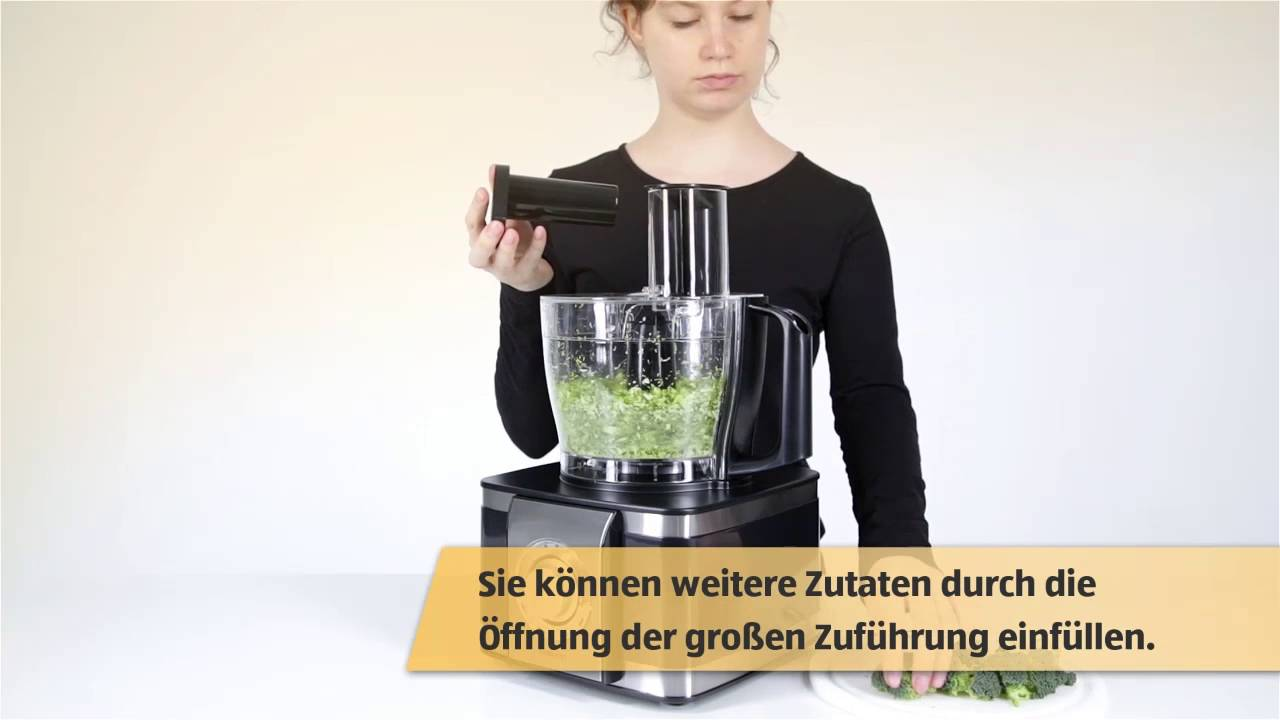 Multifunktionale Kuchenmaschine Mit Entsafter Youtube