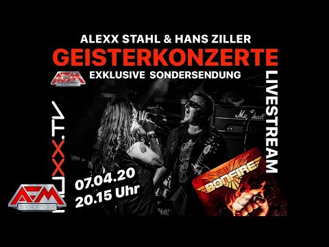 "BONFIRE - Fistful Of Fire // Interview ""Livetalk mit Hans Ziller und Alex Stahl"" // AFM Records"