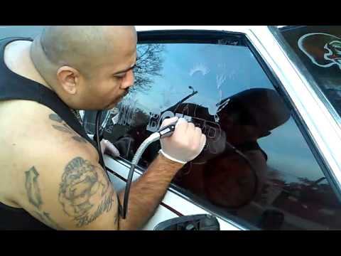 Etching My Window Youtube