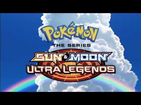 Pokemon the Series Sun & Moon Ultra Legends Greek theme