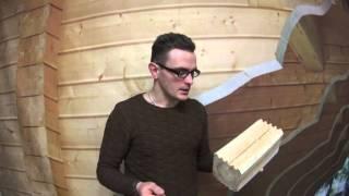 видео Профилированный брус. Особенности строительства дома