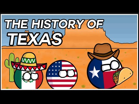 How Texas Went From Mexico To America! | Texas Revolution In Country Balls (ft. Viddy's Vids)