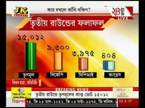 TMC candidate leading in Kanthi Dakshin assembly seat