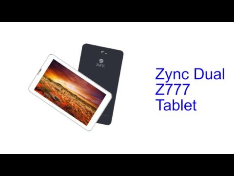 Zync Dual Z777 Tablet Specification [INDIA]
