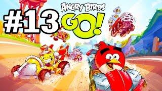 Angry Birds Go! Геймплей Прохождение Часть 13  Gameplay Walkthrough Part 13(Добро пожаловать на трассы скоростного спуска Свинского острова! Почувствуйте кайф гонки вместе с птицами..., 2015-01-22T15:10:39.000Z)