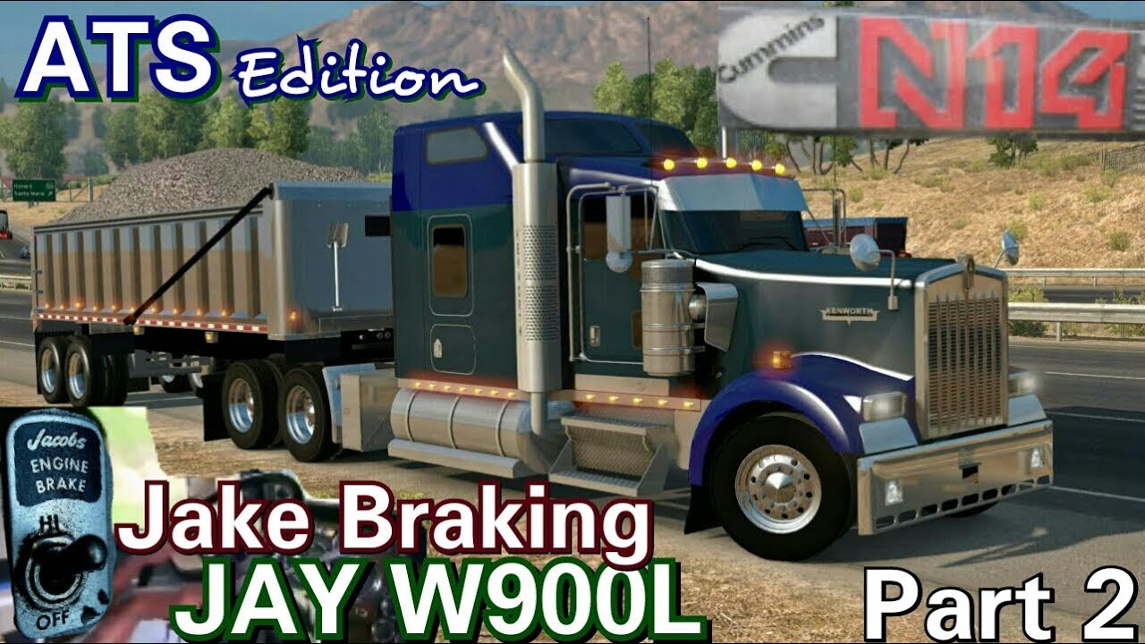 Jay W900L with N14 Through the Hills in ATS