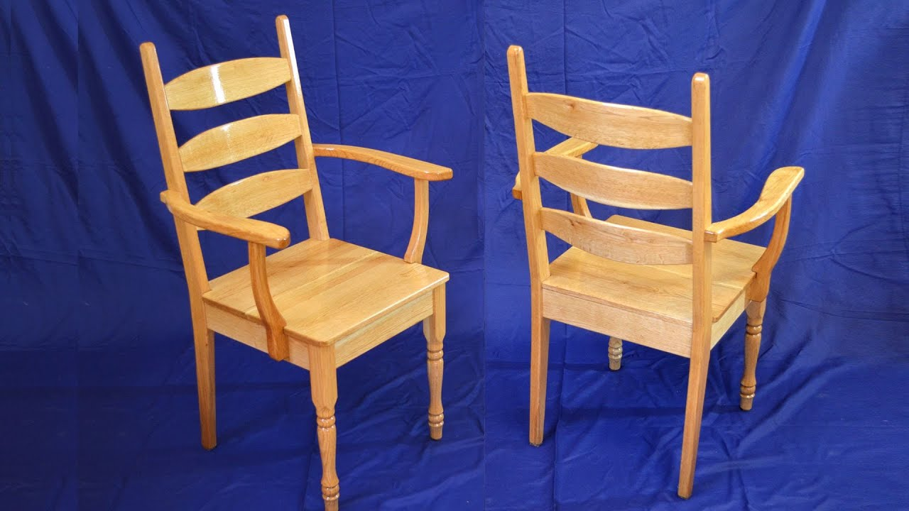Building wooden chairs