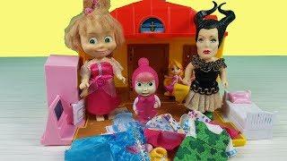 Küçük Cadının Sihirli Elbiseleri Masha Ve Cadı Çizgi Film İzle