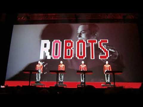 Kraftwerk  We Robots  - Live in Athens -3D Concert - 03 03 2018 - Tae Kwon Do Stadium