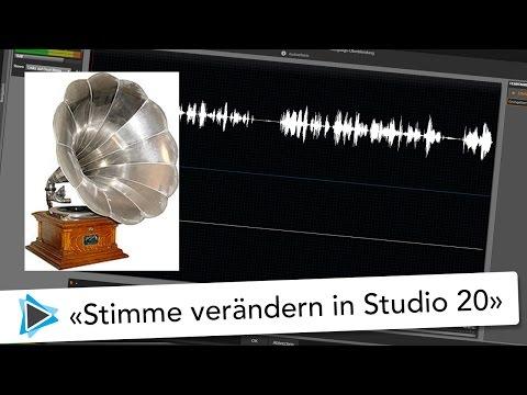 Stimme verändern und verzerren im Grungelizer Effekt mit Pinnacle Studio 20 Deutsch Video Tutorial