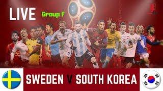 SWEDEN V SOUTH KOREA LIVE ON BOROFANTV