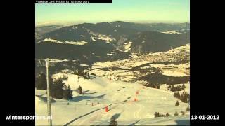 Le Vercors Villard de Lans webcam time lapse 2011-2012