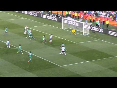 Lionel Messi V Nigeria World Cup 2010