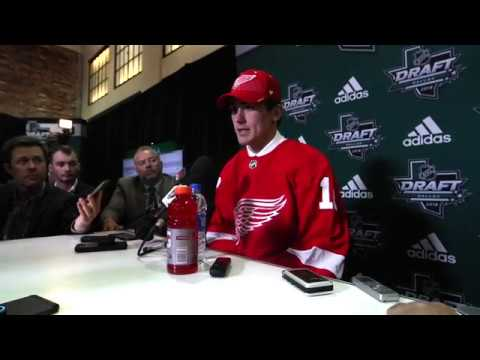 Detroit Red Wings 1st Round Draft Pick | Filip Zadina