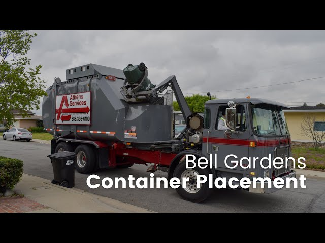 Bell Gardens Trash Container Placement Guide
