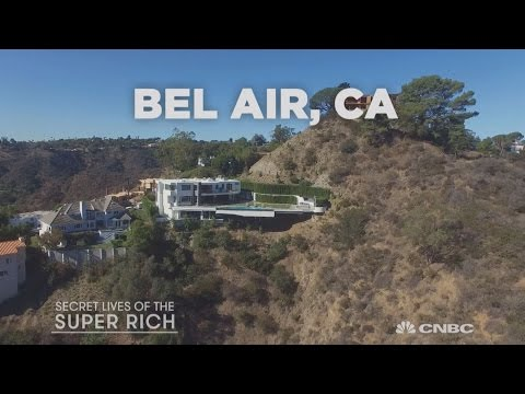 The coolest canyon crib in Bel-Air