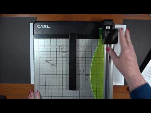 Carl 12 Heavy Duty Paper Trimmer Cutter Review