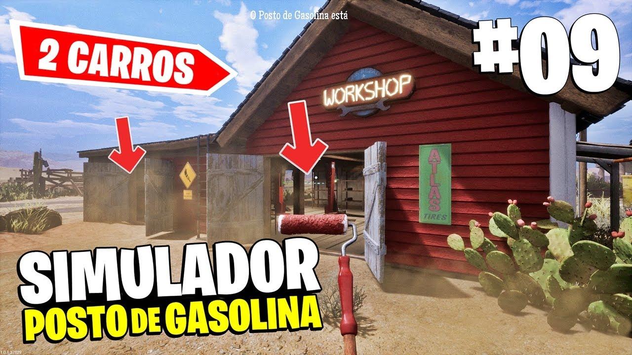 MANDEI NOSSA OFICINA PARA O NÍVEL MÁXIMO E LIBEREI NOVOS PRODUTOS! - Gas Station Simulator #09