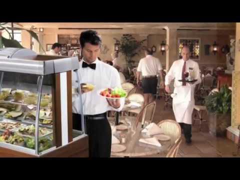 Обзор линии раздачи питания для столовой