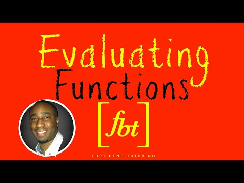 Function Notation: Evaluating and Simplifying Functions [fbt]
