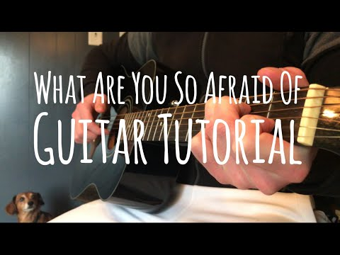XXXTENTACION - what are you so afraid of | Guitar Tutorial Mp3