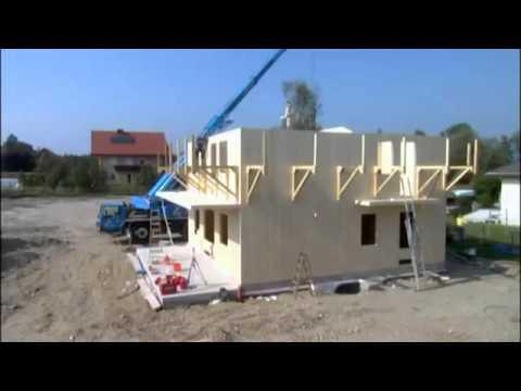 Ma maison en bois en kit montage en 12h youtube for Montage maison en bois