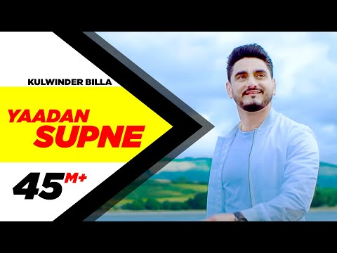 Yaadan Supne  Full Video  Kulwinder Billa  Dr Zeus  Latest Punjabi Song 2017  Speed Records