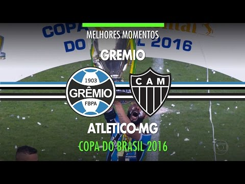 Melhores Momentos - Grêmio 1 X 1 Atlético-MG - Final Copa Do Brasil - 07/12/2016 - Globo HD