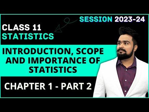 #2, Concept Of Statistics | Plural Sense | Characteristics | Statistics For Economics | Class 11 |