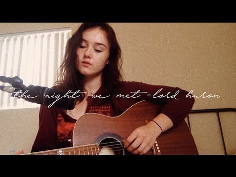 The Night We Met - Lord Huron (Cover) by Kate Turner