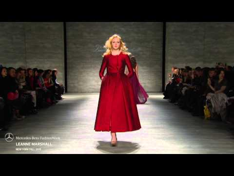 LEANNE MARSHALL MERCEDES-BENZ FASHION WEEK FW 2015 COLLECTIONS