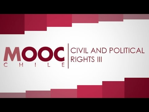 "Introduction to Human Rights | Lesson 8: ""Civil and Political Rights III"""